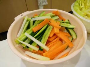 桜屋:野菜スティック