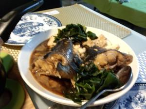 小料理ゆみこ:五島沖のクロの煮付け