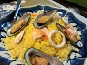 小料理ゆみこ:パエリア