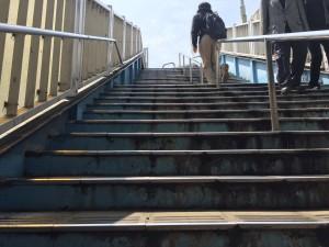 南千住駅前の歩道橋