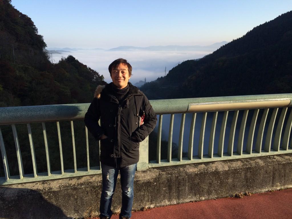 裏山ダムの雲海