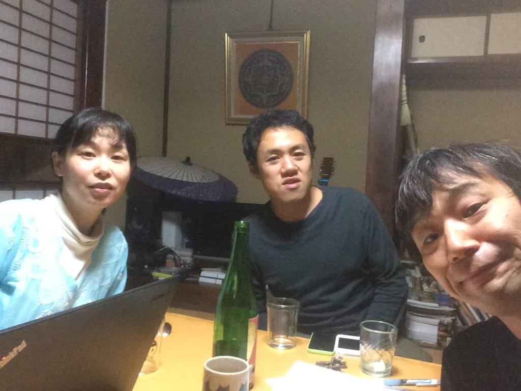 元雑色メンバーのアシナさんと@たけのこ庵