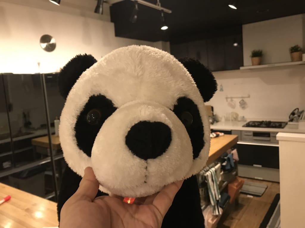 ぱんだハウスのパンダ