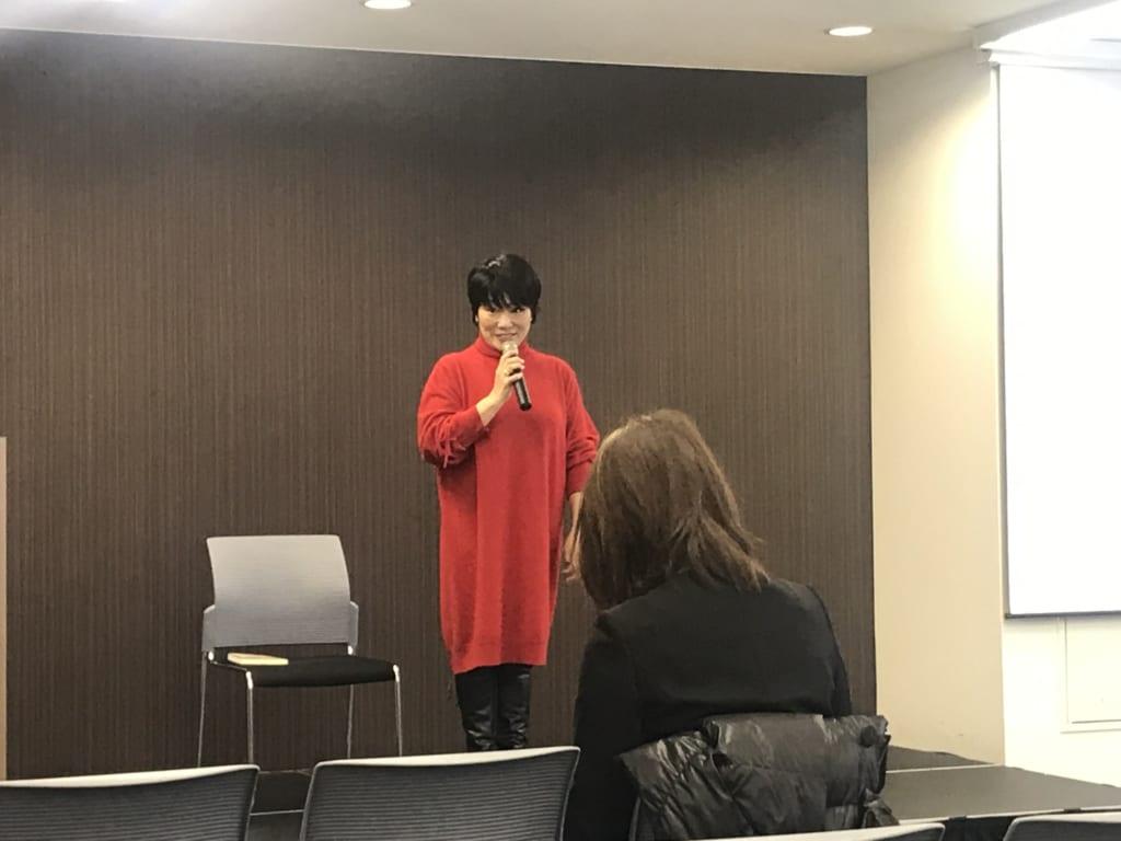 兼子美佐さんの講演